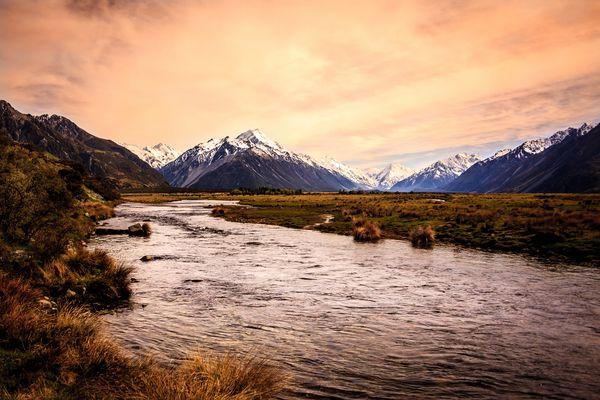Le Mont Cook Nouvelle-Zelande