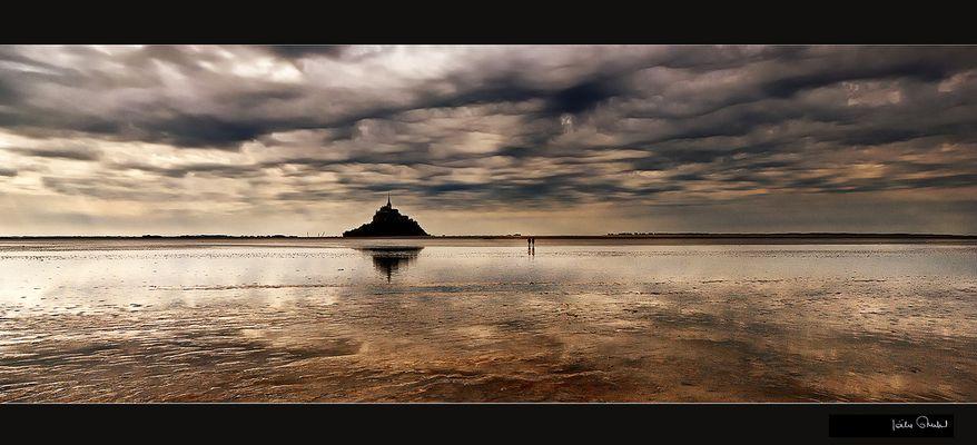 Le mont saint Michel .