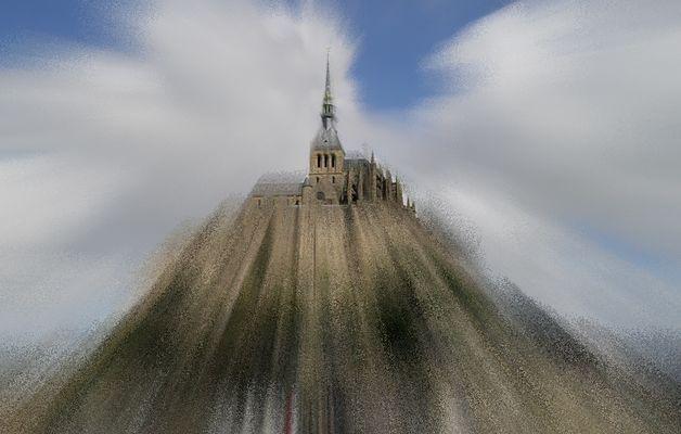 Le Mont Saint Michel dans sa robe du soir