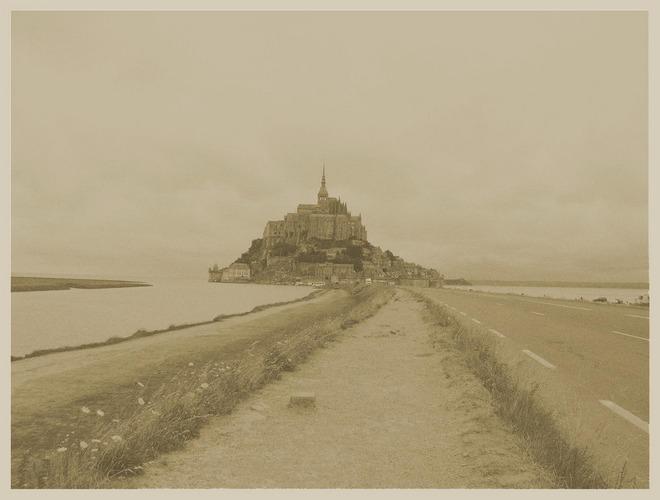 Le Mont Saint Michelle, Frankreich, Sommer 2003