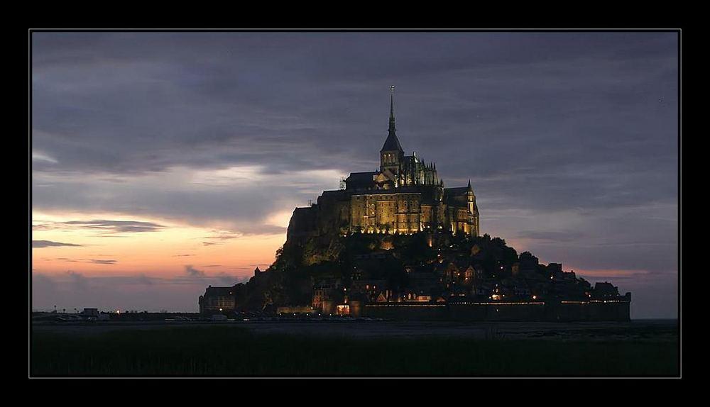 Le Mont St. Michel...