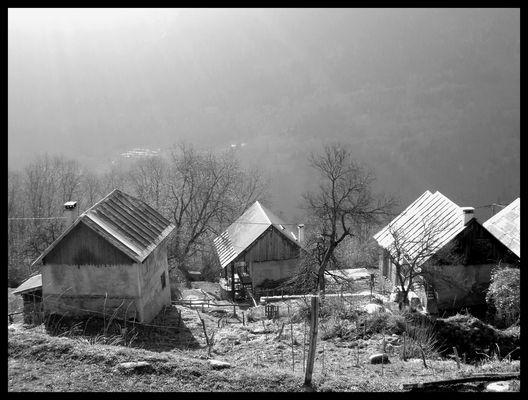 le monthion : vieux hameau montagnard