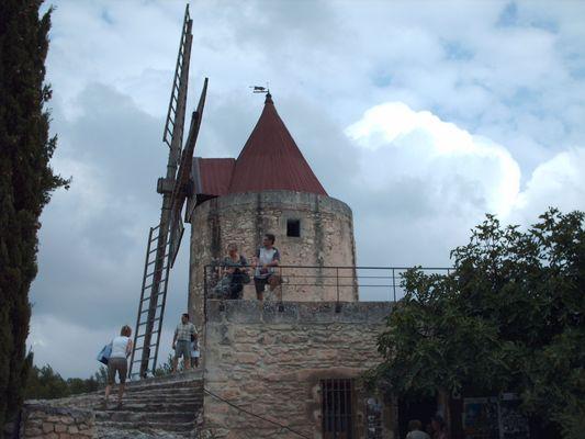 Le moulin Daudet