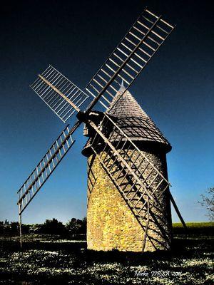 Le moulin de Cherves