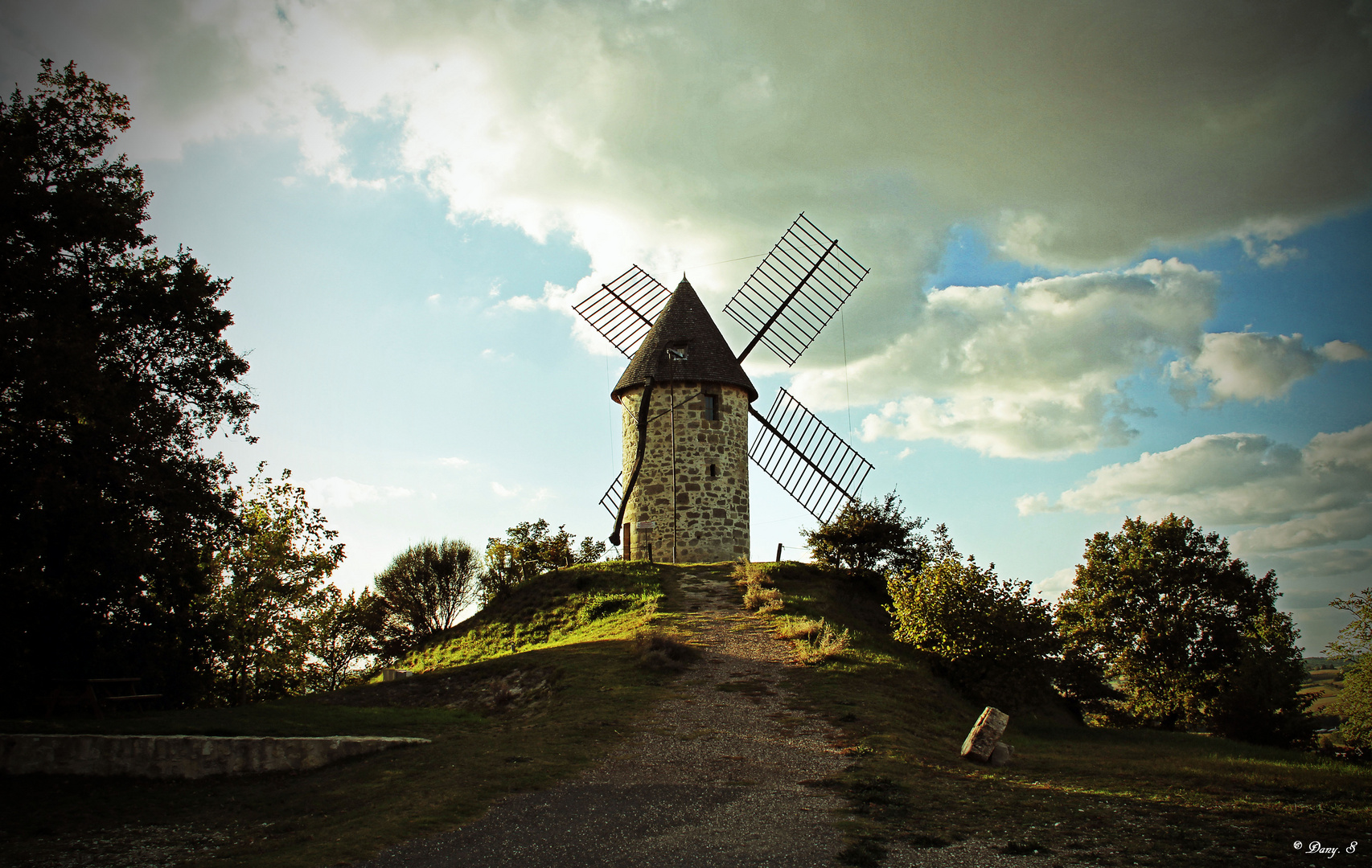 le moulin de Coulx