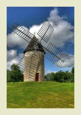 Le moulin de Cussol