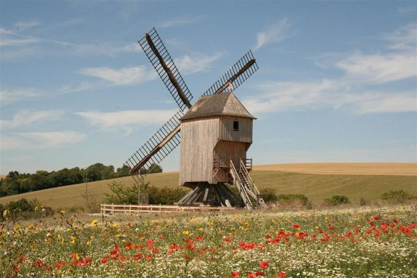 le moulin en bois