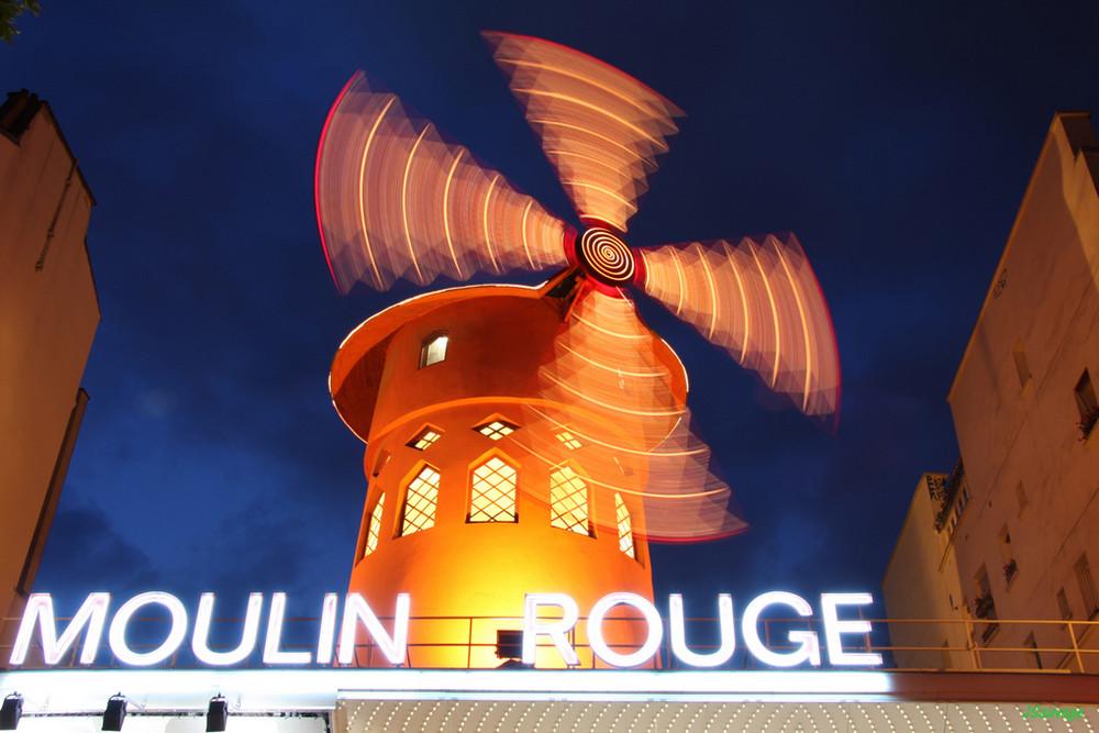 Le Moulin Rouge en folie