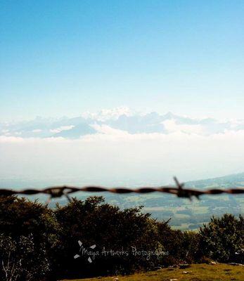 Le Mt-Blanc, au printemps.