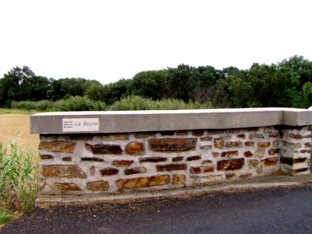 le mur de la riviere de boyne