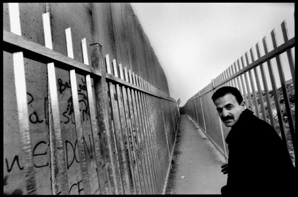Le mur entre Jérusalem et Béthléem