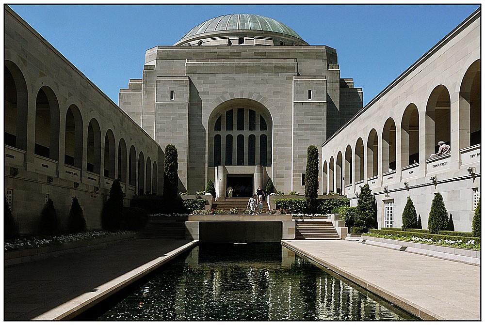 Le musée de la guerre de Canberra(australie)