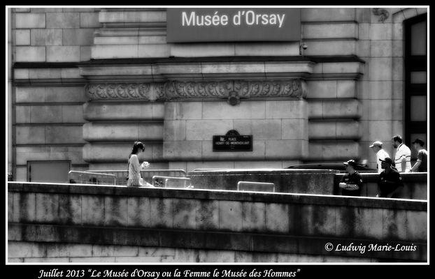 Le Musée d'Orsay ou la Femme le Musée de l'Homme.