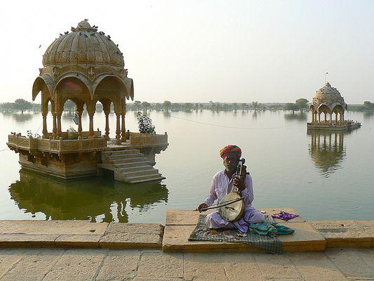 Le musicien du lac