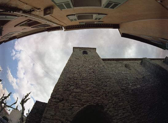 Le Muy Altstadt im Spätherbst