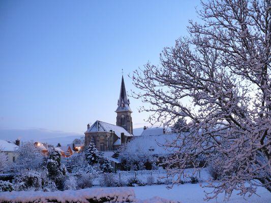 le nord sous la neige
