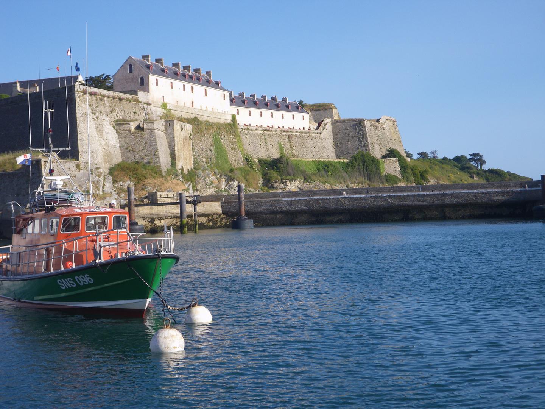 Le Palais, belle île en mer, vue sur la citadelle !