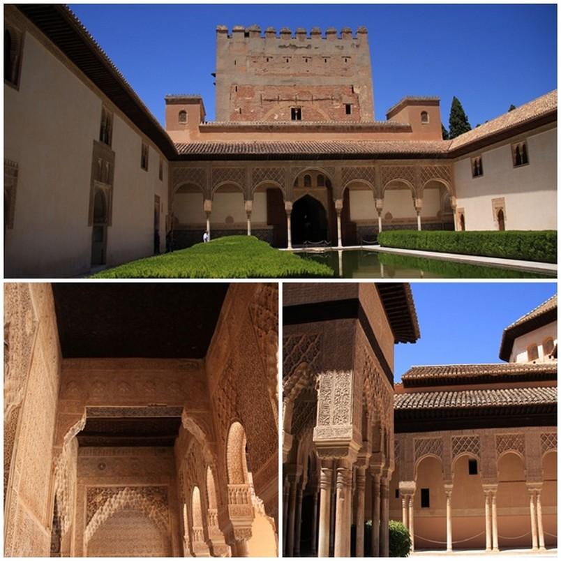 le palais de l'Alhambra, Grenade!