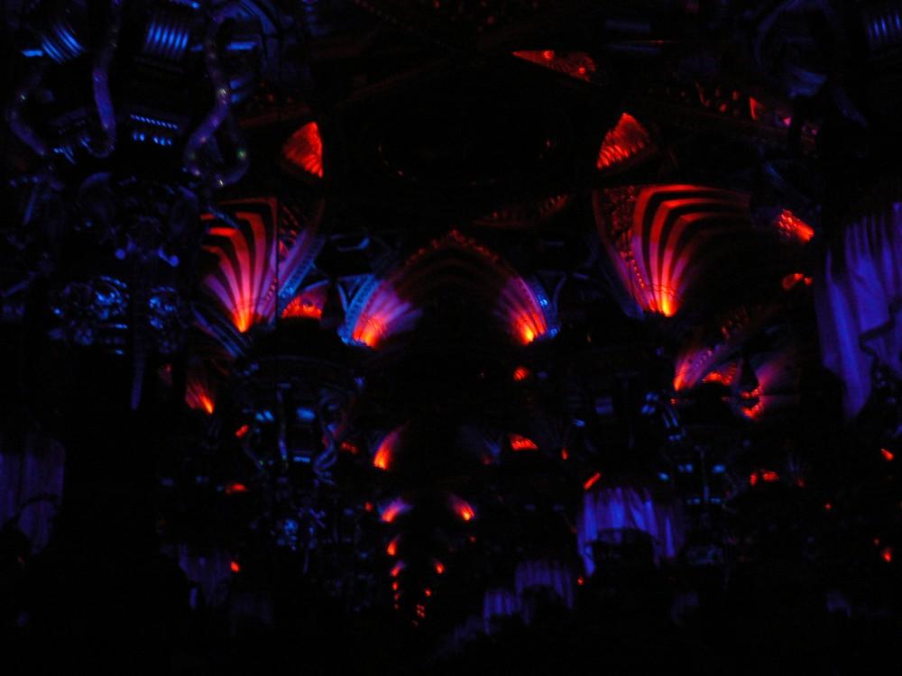 Le palais des mirages, kaleidoscope geant, au musee Grevin