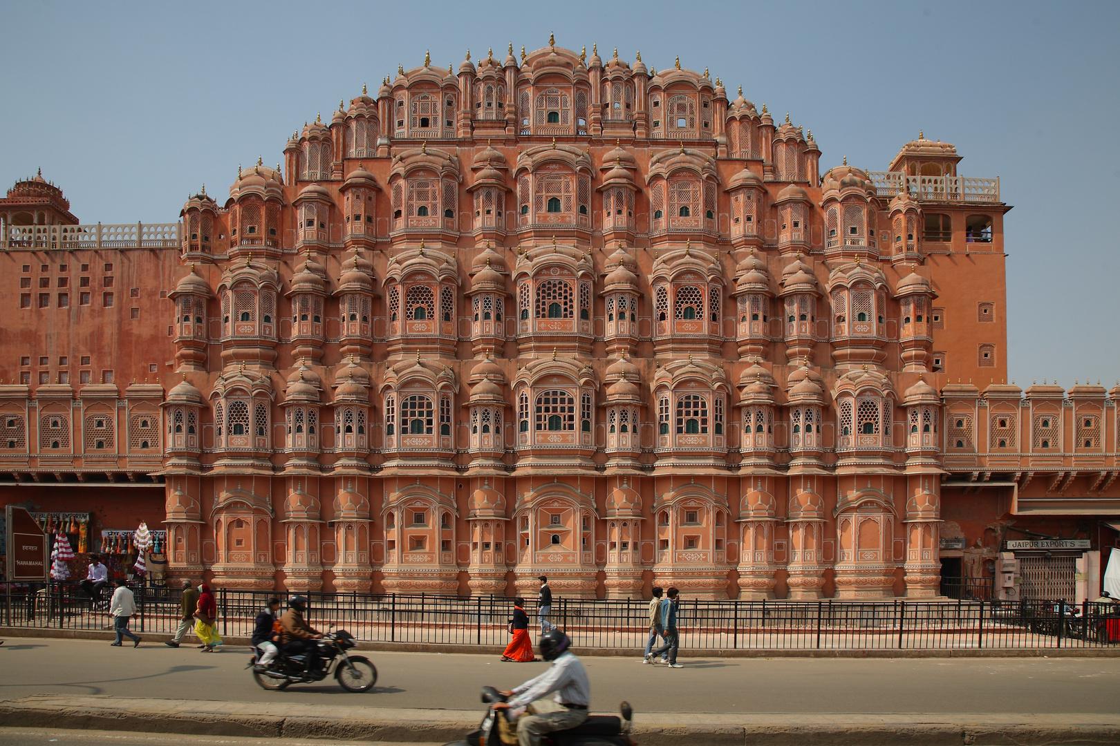 Le Palais des Vents à Jaipur, Rajasthan.