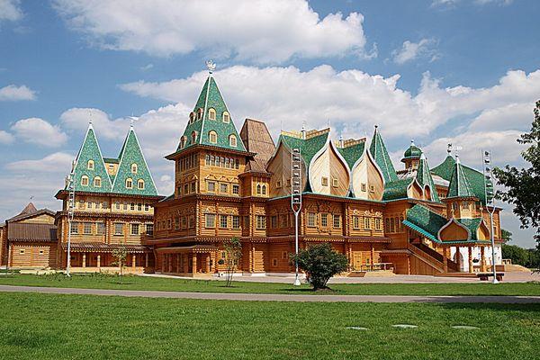 Le palais du roi Alexeï Mikhaïlovitch. Kolomenskoe. Moscou
