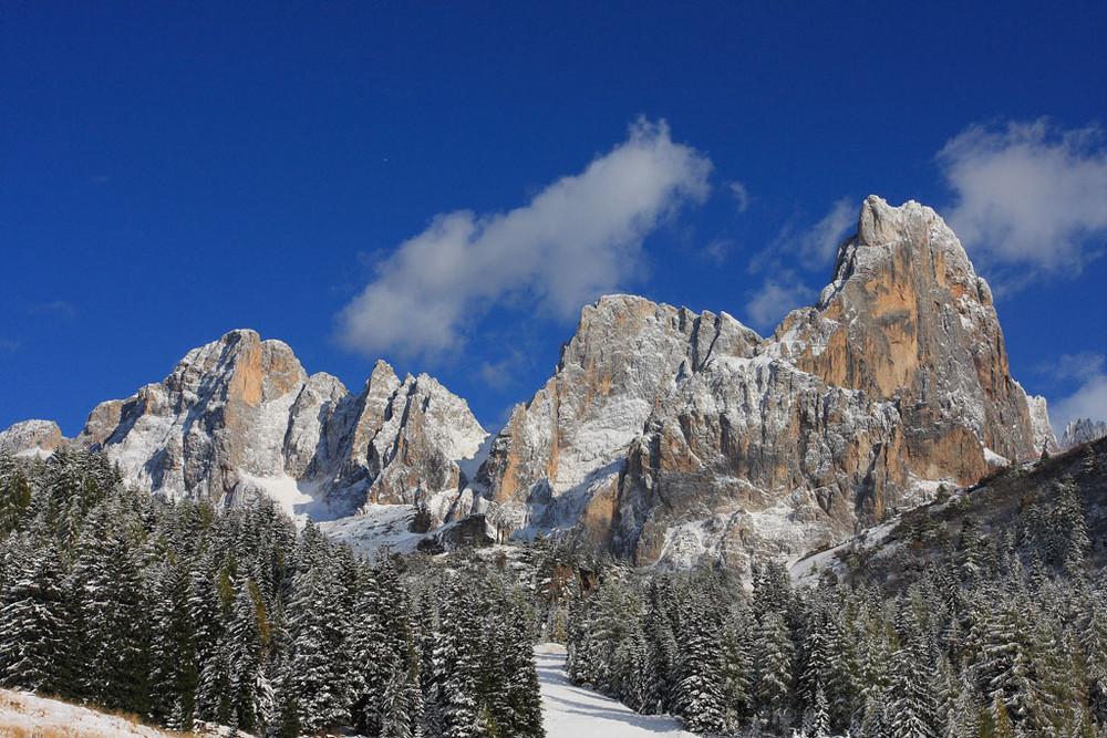 le Pale di S.Martino dopo la nevicata...