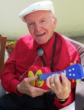 Le papé à la guitare