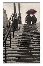 Le parapluie de la Butte