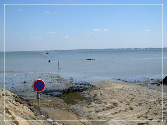 Le passage du Gois à l'île de Noirmoutier