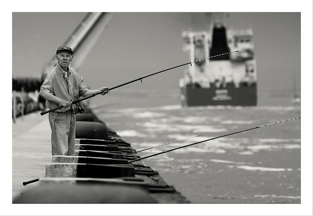 Le pêcheur de canal