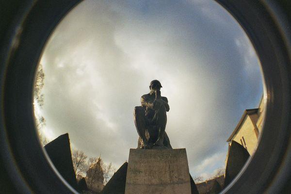 Le Penseur de Rodin. Musée Rodin, Paris