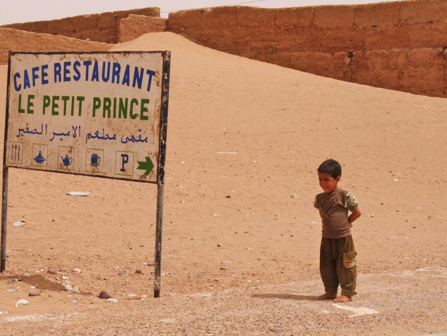 Le petit prince du désert