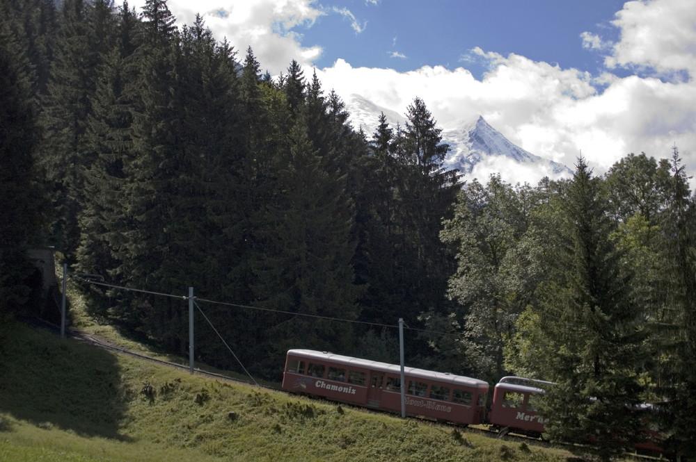Le petit train du Montenvers