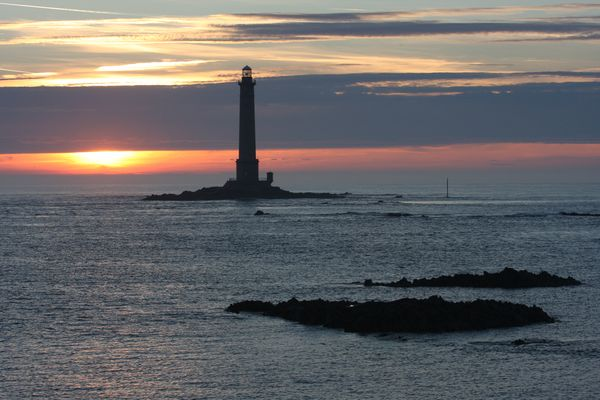 Le phare de Goury en Cotentin.