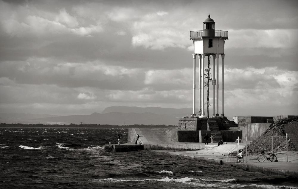 Le phare de la jetée