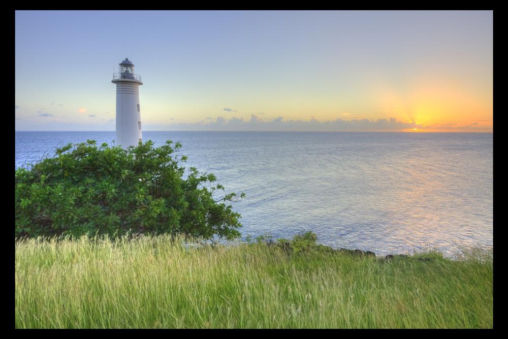 Le phare de Vieux-Fort (Basse-Terre)