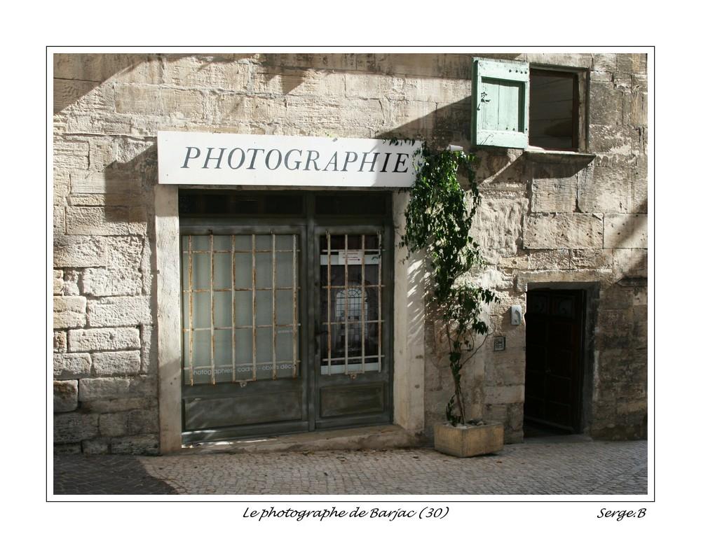 Le photographe de Barjac