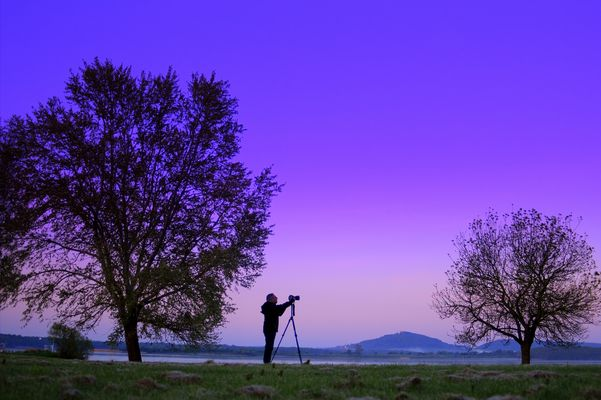 Le photographe le l'aube