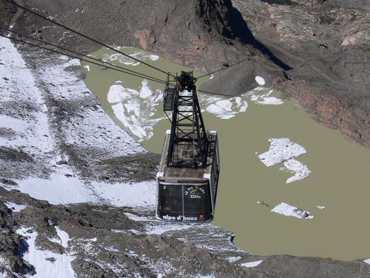 Le Pic Blanc / L'Alpe d'Huez
