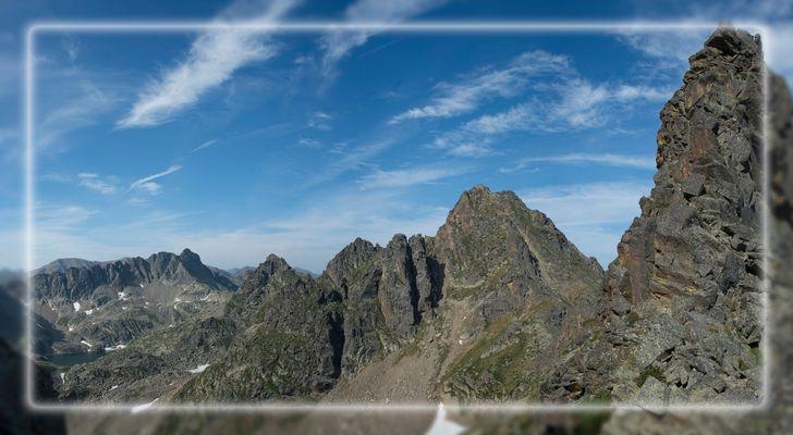 Le pic du Rulhe en Ariège
