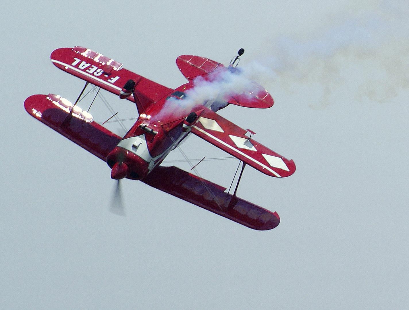 le Pitts, l'avion acrobate