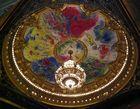 Le plafond de l'opéra Garnier