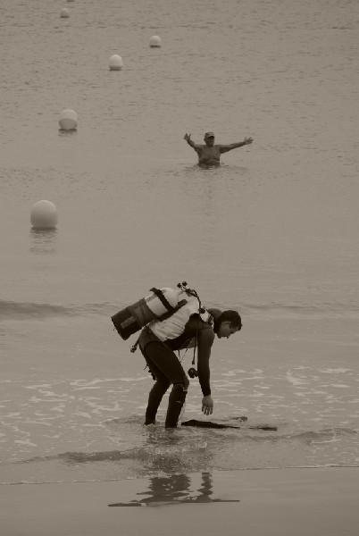 Le plongeur