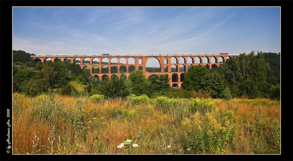 Le plus grand pont de brique du monde.