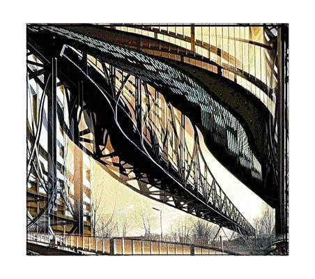 Le pont ...