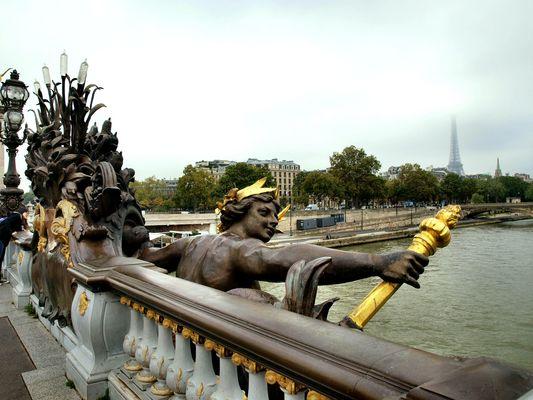 Le pont d'Alexandre III. Le fragment_2