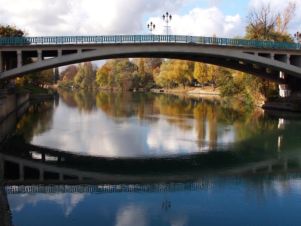 Le pont de Champigny