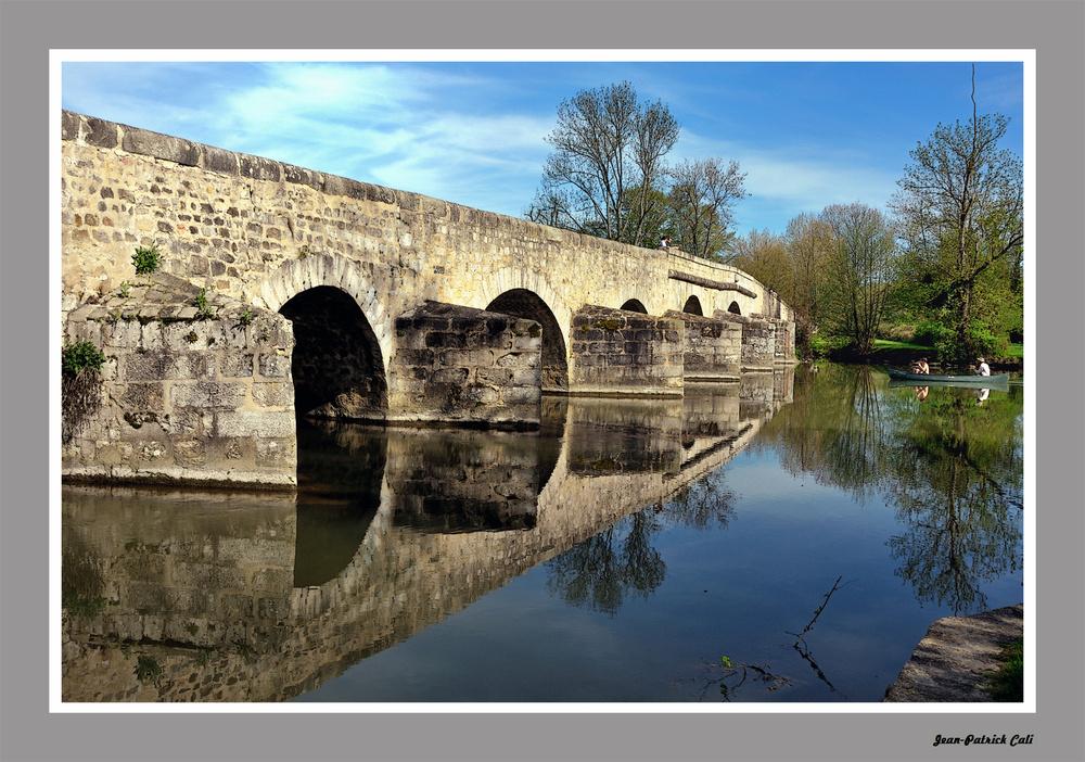 Le pont de Grez sur Loing