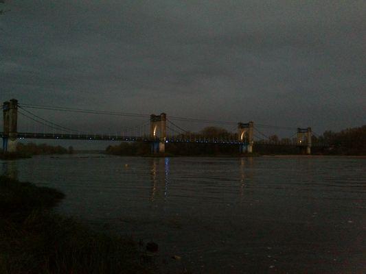 Le pont de Langeais sur la Loire