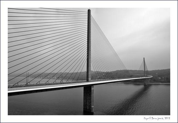 Le pont de l'Iroise à Brest